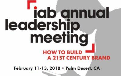 IAB Annual leadership meeting 2018