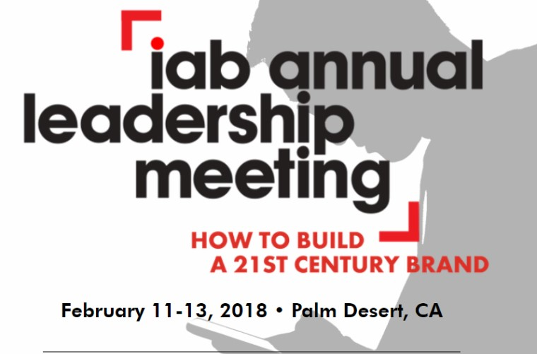 IAB Annual leadership meeting 2018