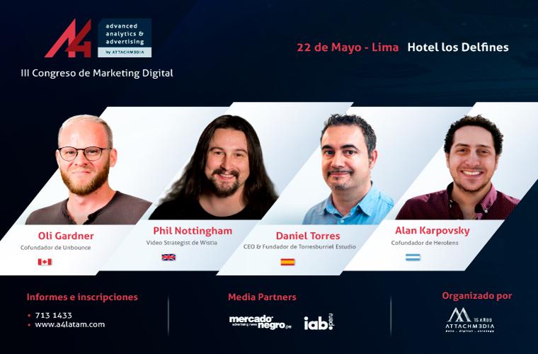 III Congreso de Marketing Digital: A4
