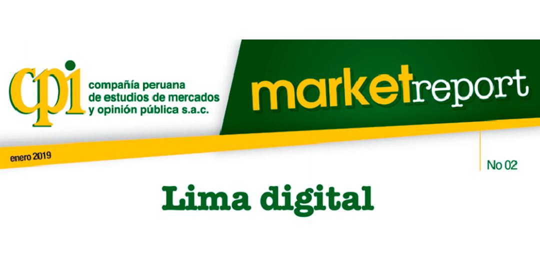 Market Report: Lima Digital, por CPI