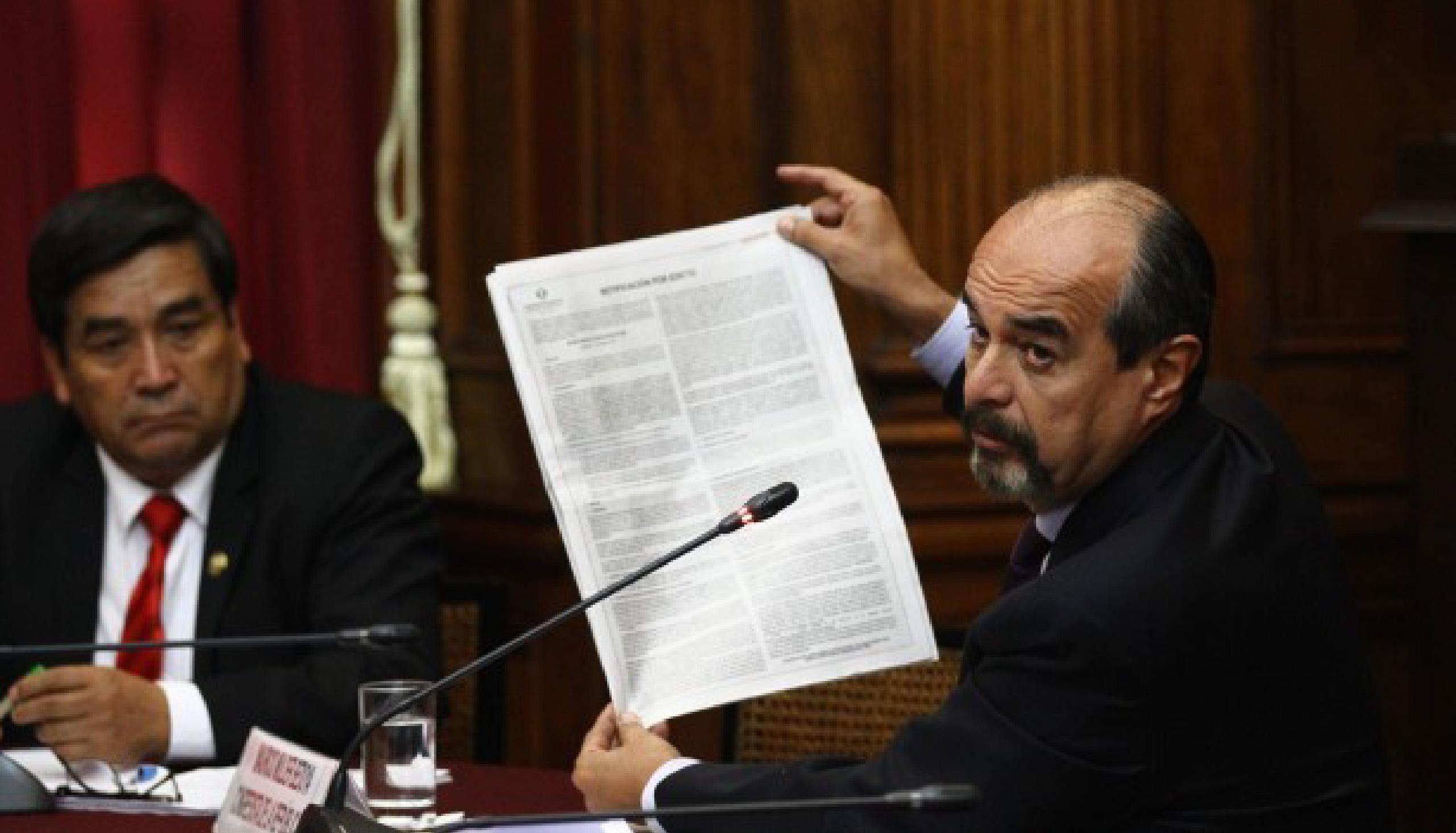 Pronunciamiento sobre la ley para regular el gasto de publicidad del Estado peruano