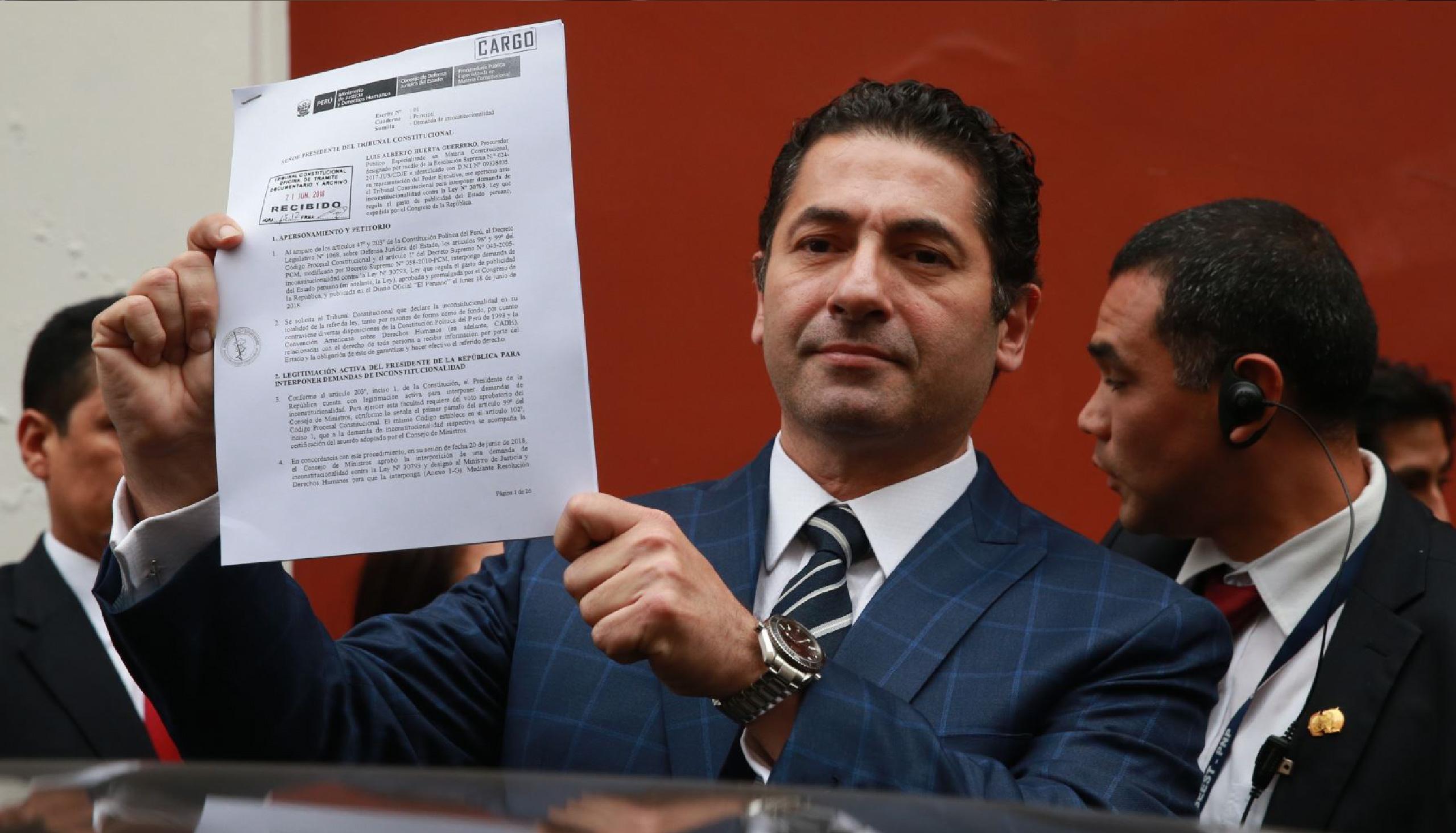 Congreso archivará proyecto de Ley sobre publicidad estatal
