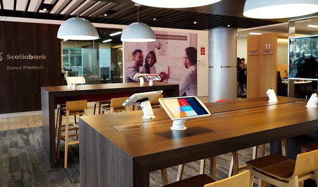 Scotiabank presenta nuevo concepto de agencia bancaria