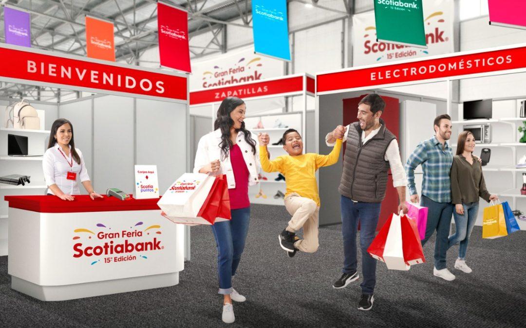 Proyectan incremento de 20% de compras en la Feria Scotiabank