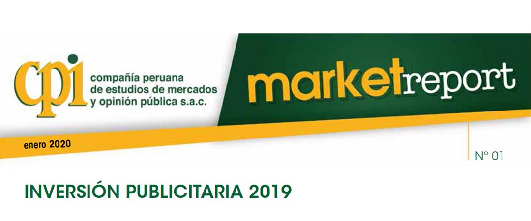 Market Report: Inversión Publicitaria 2019, por CPI