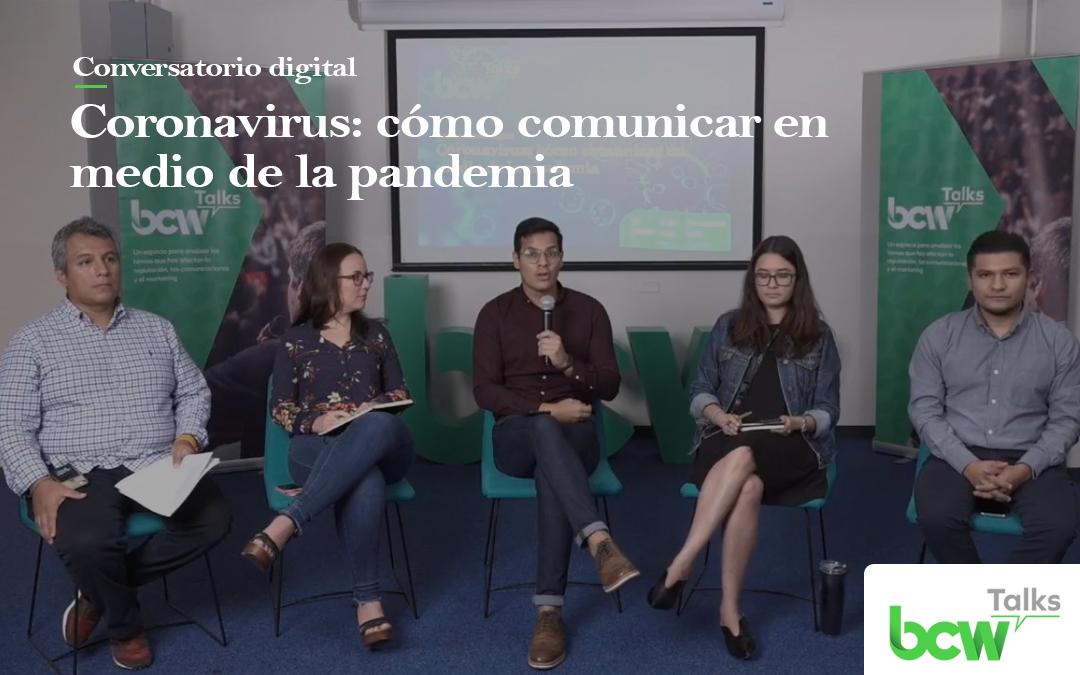 BCW nos brinda claves de cómo comunicar ante una emergencia de salud pública