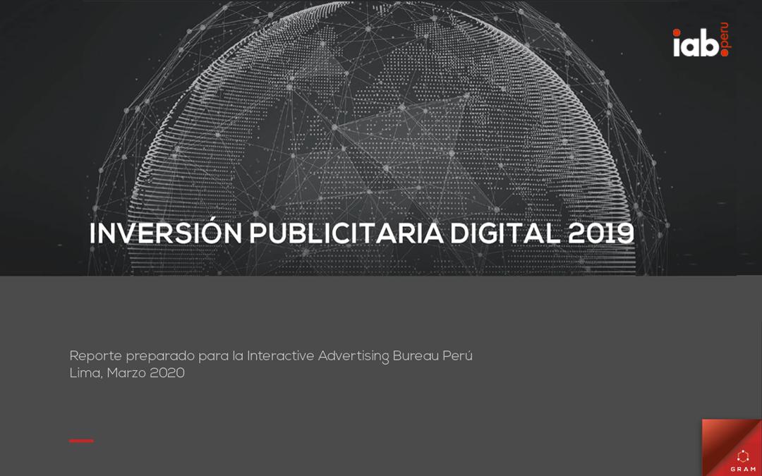 Estudio de Inversión Publicitaria Digital 2019