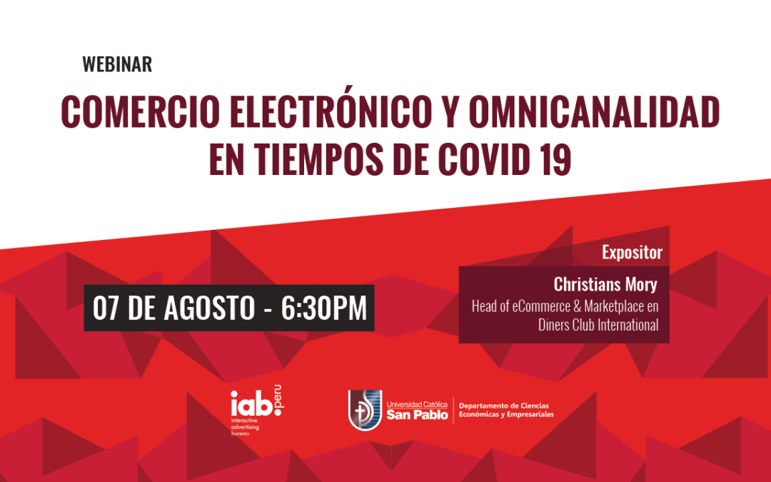 Webinar: Comercio electrónico y omnicanalidad en tiempos de COVID 19