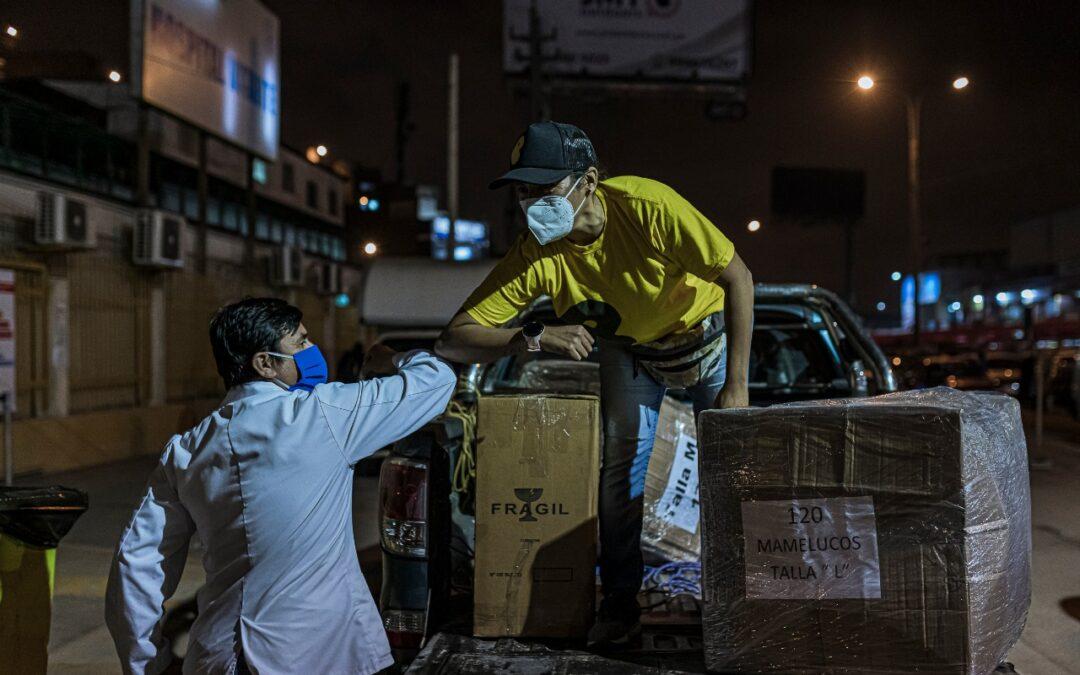 Grupo Scotiabank dona equipos de protección a 32 centros de salud de Lima, Loreto y Piura