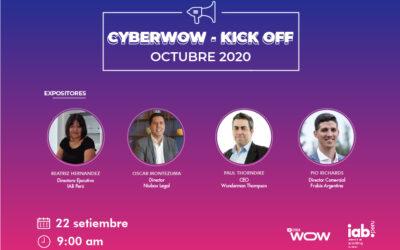 Webinar: CyberWow-Kick Off Octubre 2020