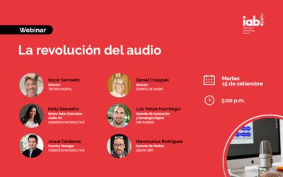 Webinar: La revolución del audio