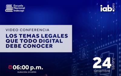 Conferencia «Los temas legales que todo digital debe conocer»