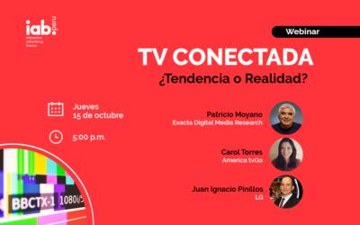 Webinar – TV Conectada: ¿Tendencia o Realidad?