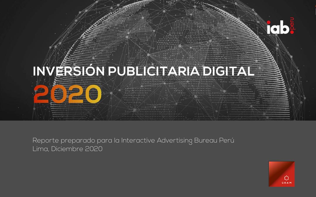 Informe de Inversión Publicitaria 2020