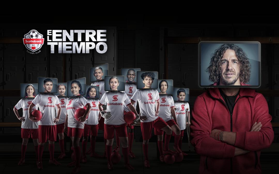 """Carles Puyol retorna virtualmente para la serie web """"El Entretiempo"""""""